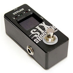 "Outlaw Effects ""Six Shooter"" Tuner Pedal"