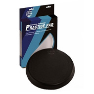 "Dixon 10"" Rubber Drum Practice Pad in Black - Pk 1"
