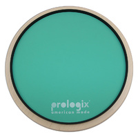 "Pro Logix 12"" Green Logix Practice Pad with Rim - Light Resistance"