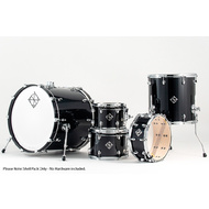 Dixon Cornerstone Maple 520 Series 5-Pce Drum Kit in Piano Black Gloss