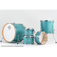 Dixon Cornerstone Maple 522 Series 5-Pce Drum Kit in Quetzel Blue Satin