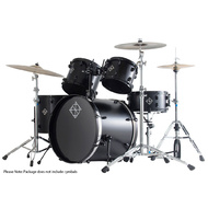 Dixon Fuse Limited Series 5-Pce Drum Kit in Blade Black