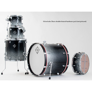 Dixon Fuse Maple 520 Series 5-Pce Drum Kit in Hyperspace Gloss