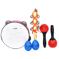Percussion Plus 4-Piece Percussion Set in Carry Bag