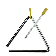 "Percussion Plus 8"" Triangle with Striker Hand Percussion Sound Effect"