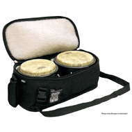 "Protection Racket Deluxe Bongo Bag in Black (19.5"" x 11"" x 8"")"
