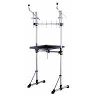 Dixon Percussion Workstation on Dixon Rack with Mounts