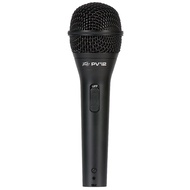 Peavey PVi2 Dynamic Cardioid Microphone in Black with XLR-QTR Cable