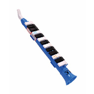 QM Musical Plastic 13-Key Melodica in Blue