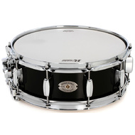 Rogers Dyna-Sonic Custom Series Snare Drum in High Luster Black Lacquer - 14 x 5""
