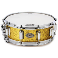 Rogers Dyna-Sonic Custom Series Snare Drum in Gold Sparkle Lacquer - 14 x 5""