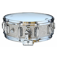 Rogers Dyna-Sonic Beavertail Series Snare Drum in White Marine Pearl - 14 x 5""