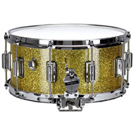 Rogers Dyna-Sonic Custom Series Snare Drum in Gold Sparkle Lacquer - 14 x 6.5""