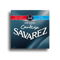 Savarez 510CRJ New Cristal Cantiga Mixed Tension Classical Guitar String Set