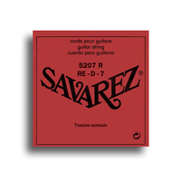 Savarez 5207R Standard Tension (D-7th) Single Classical Guitar String