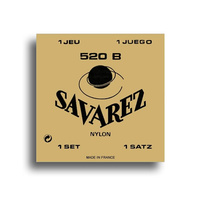 Savarez 520B Traditional Low Tension Classical Guitar String Set