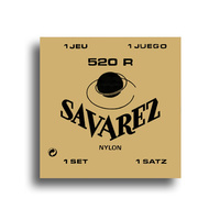 Savarez 520R Traditional Normal Tension Classical Guitar String Set