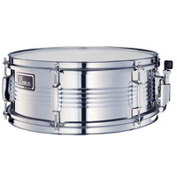 "Peace Metal 6-Lug Snare Drum in Chrome (14 x 5.5"")"