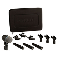 Shure DMK57-52 Drum Microphone Kit with Mounts + Case