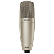 Shure KSM32/SL Embossed Single-Diaphragm Microphone with Shock & Swivel Mounts