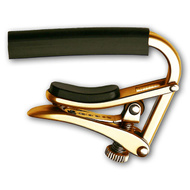 "Shubb C1 ""Royale"" Steel String Guitar Capo in Gold Titanium Finish"