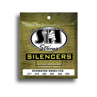 SIT Silencers 80/20 Golden Bronze Resonator String Set (17-56)