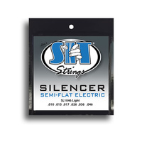 SIT Silencer Light Semi-Flat Electric Guitar String Set (10-46)