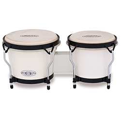 "Toca 6 & 6-3/4"" Synergy Series Synthetic Bongos in White"