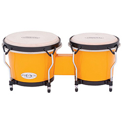 "Toca 6 & 6-3/4"" Synergy Series Synthetic Bongos in Yellow"