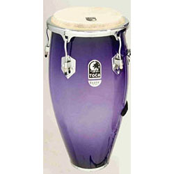 "Toca 10"" Elite Series Wooden Requinto in Purple Mist"