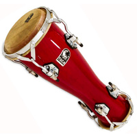 Toca Small Bata Drum Oconcolo in Bright Red Lacquer Finish