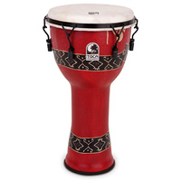 "Toca Freestyle Series Mech Tuned Djembe 9"" in Bali Red"
