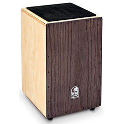 Toca Wooden Cajon in Natural with Ash Wood Front Plate