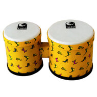 "Toca 5 & 6"" Freestyle Series Synthetic Bongos in Lizard Pattern"