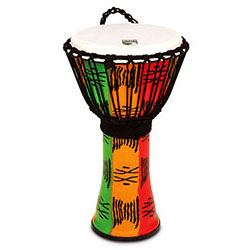 "Toca Freestyle 2 Series Djembe 10"" in Spirit Pattern"