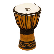 "Toca Origins Series Wooden Djembe 7"" Synthetic Head in Celtic Knot"