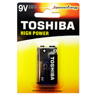 Toshiba 9V Heavy Duty Alkaline Battery - 1 Pack
