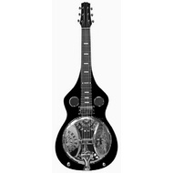 Vorson Dobro Lap Steel Guitar in Black Finish
