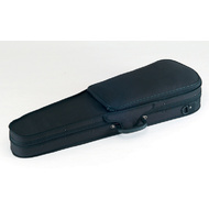 Carlo Giordano Semi-Hard Shaped 1/4 Size Violin Case in Black