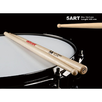 Wincent USA Hickory Round Wood Tip 5A Drum Sticks