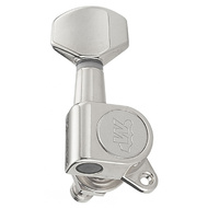 Wilkinson E-Z Lok Electric Guitar Tuning Machines in Chrome Finish (6-inline)
