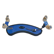 Wolf Forte Secondo Coloured Shoulder Rest for Violin in Blue Evening Sky (3/4 - 4/4)