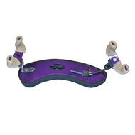 Wolf Forte Secondo Coloured Shoulder Rest for Violin in Purple Starbright (3/4 - 4/4)