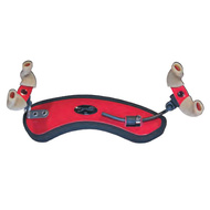 Wolf Forte Secondo Coloured Shoulder Rest for Violin in Red Starlight (3/4 - 4/4)