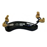 Wolf Standard Secondo Shoulder Rest for Violin in Black (1/8 - 1/16)