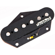 Wilkinson Vintage Alnico Pickup Open Cover in Black - Bridge