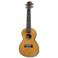 Kealoha YH-Series AC/EL Soprano Ukulele with Solid Mahogany Top in Natural Matt Finish