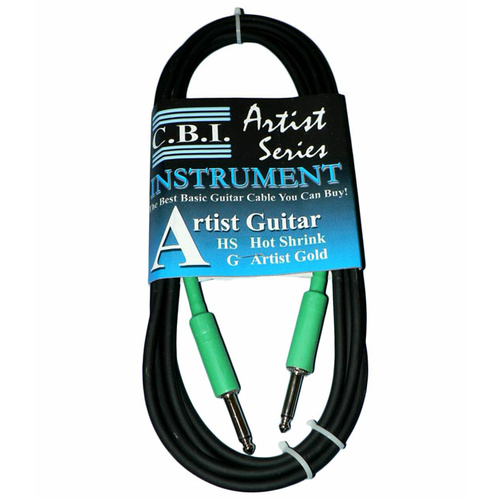 C.B.I. Cables Artist HS Series 10ft Instrument Cable