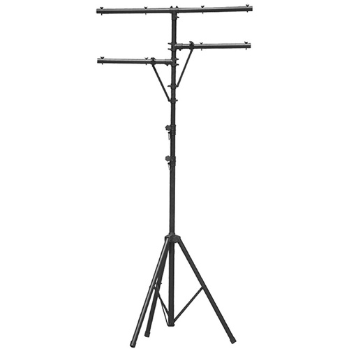 On Stage Lighting Stand with T-Bar and 2 Side Bars
