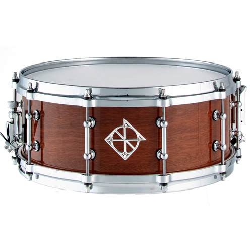 Dixon Artisan Series Australian Rose Gum Snare Drum in Gloss Natural - 14 x 5.5""